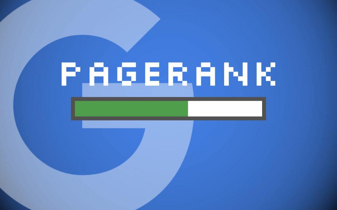 ¿Cómo aumentar el pagerank de Google de una web?